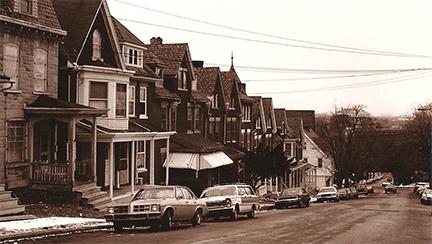 Montclair Avenue, Bethlehem, PA; circa 1980